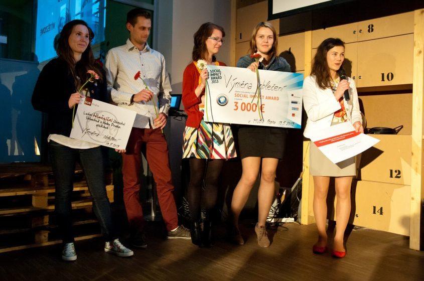 Vítězové Social Impact Award ČR 2013 vyhlášeni