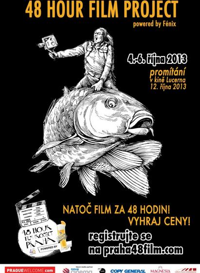 Vytvořte film za dva dny a vyhrajte na festivalu 48 Hour Film Project