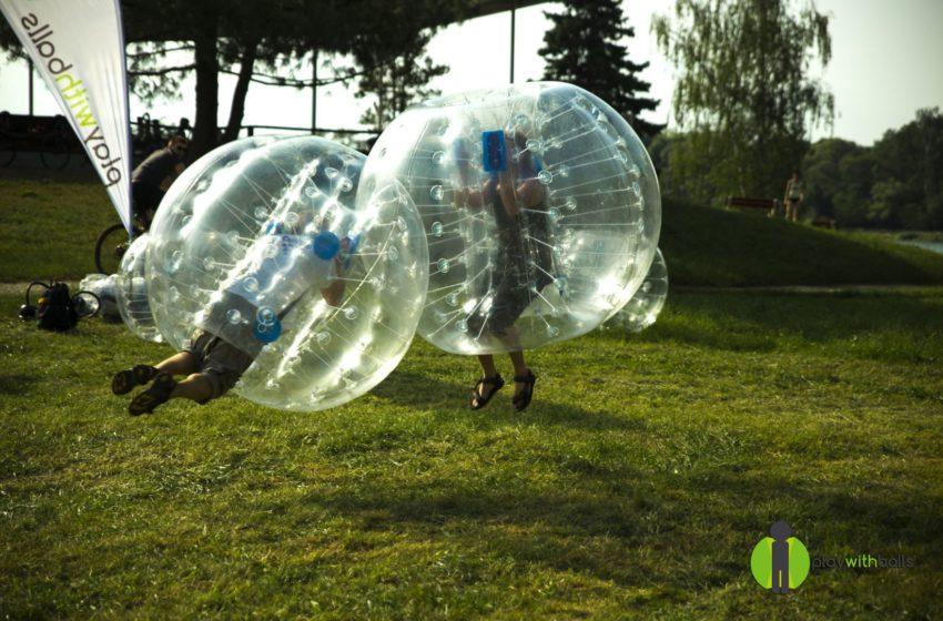 Představujeme startup Play with balls, půjčovnu nafukovacích míčů, se kterými si užijete zábavu