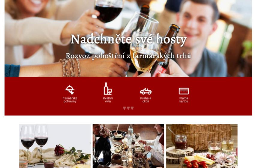 Představujeme startup DobráOslava.cz: Kvalitní občerstvení pro vaši akci rychle a pohodlně