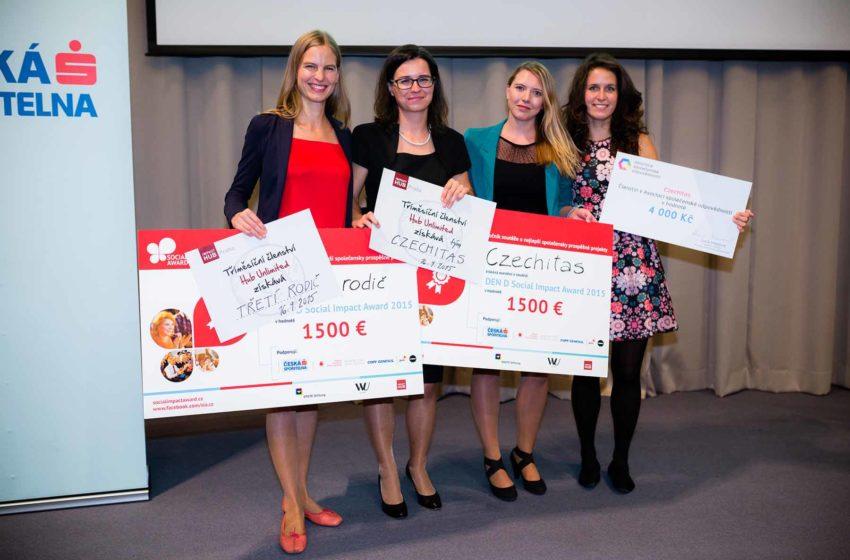 Třetí rodič a Czechitas absolutními vítězi Social Impact Award