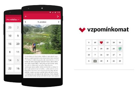 Aplikace Vzpomínkomat nahrazuje tradiční adventní kalednáře