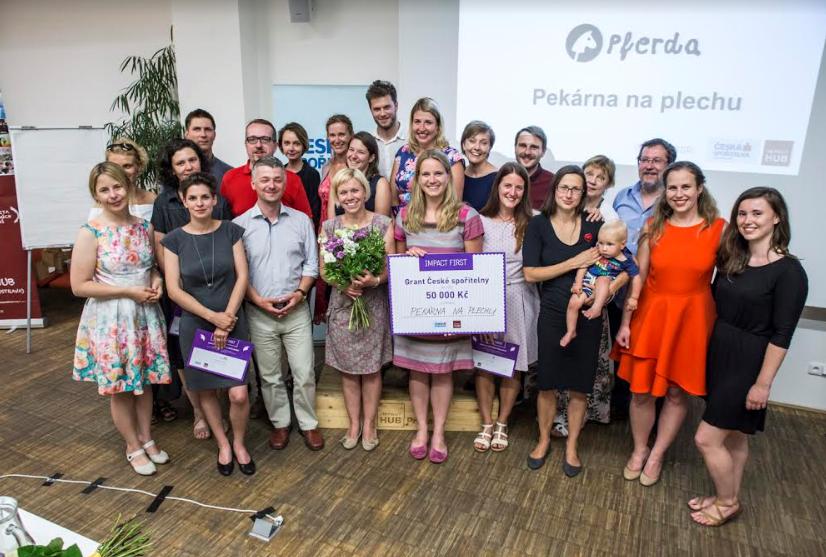 Vítězem programu sociálních podnikatelů Impact First se stala Pekárna Na Plechu