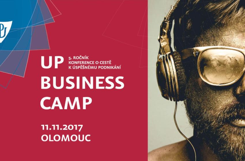 Univerzitní konference UP Business Camp představí příběhy úspěšných podnikatelů