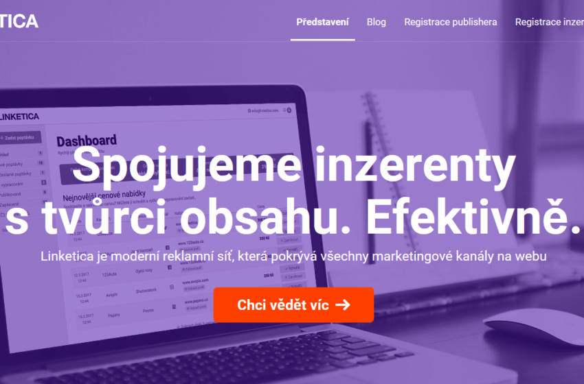 Startup Linketica spojuje tvůrce obsahu a inzerenty