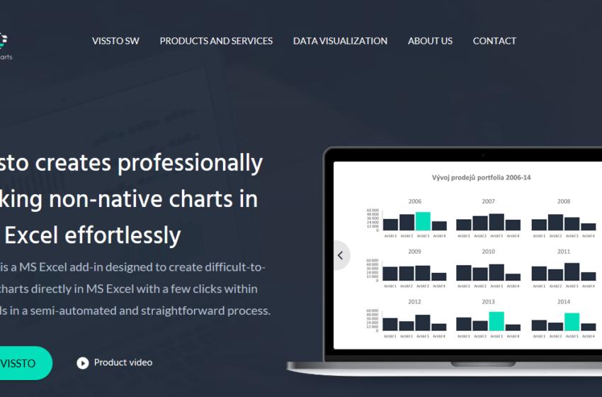 Představujeme startup Vissto: Chytré řešení pro vizualizaci dat