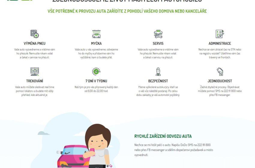 Startup DoDo rozšiřuje péči o automobily