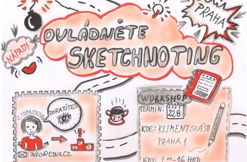 Sketchnoting jako univerzální prostředek na úspěch