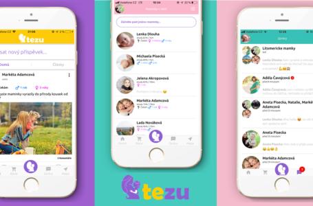 Tezu – maminkovská aplikace