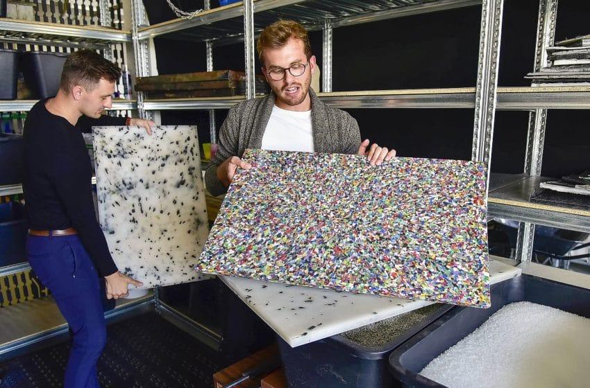 Odpad z kaváren a restaurací mění studenti VUT v nábytek. Spolupráci už navázali i ve Vídni