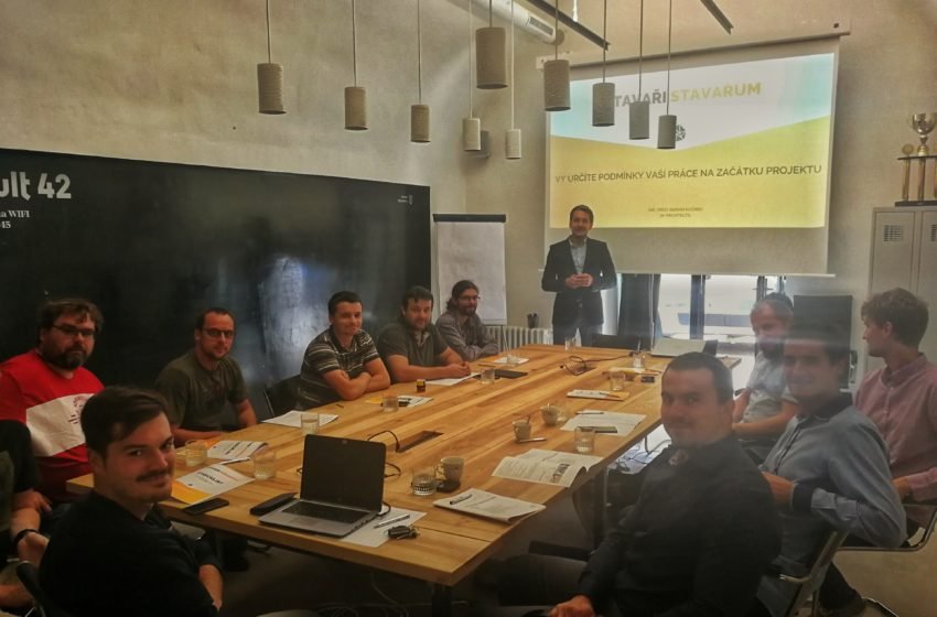 Stavaři stavařům – projekt pro všechny odborníky z oboru stavebnictví